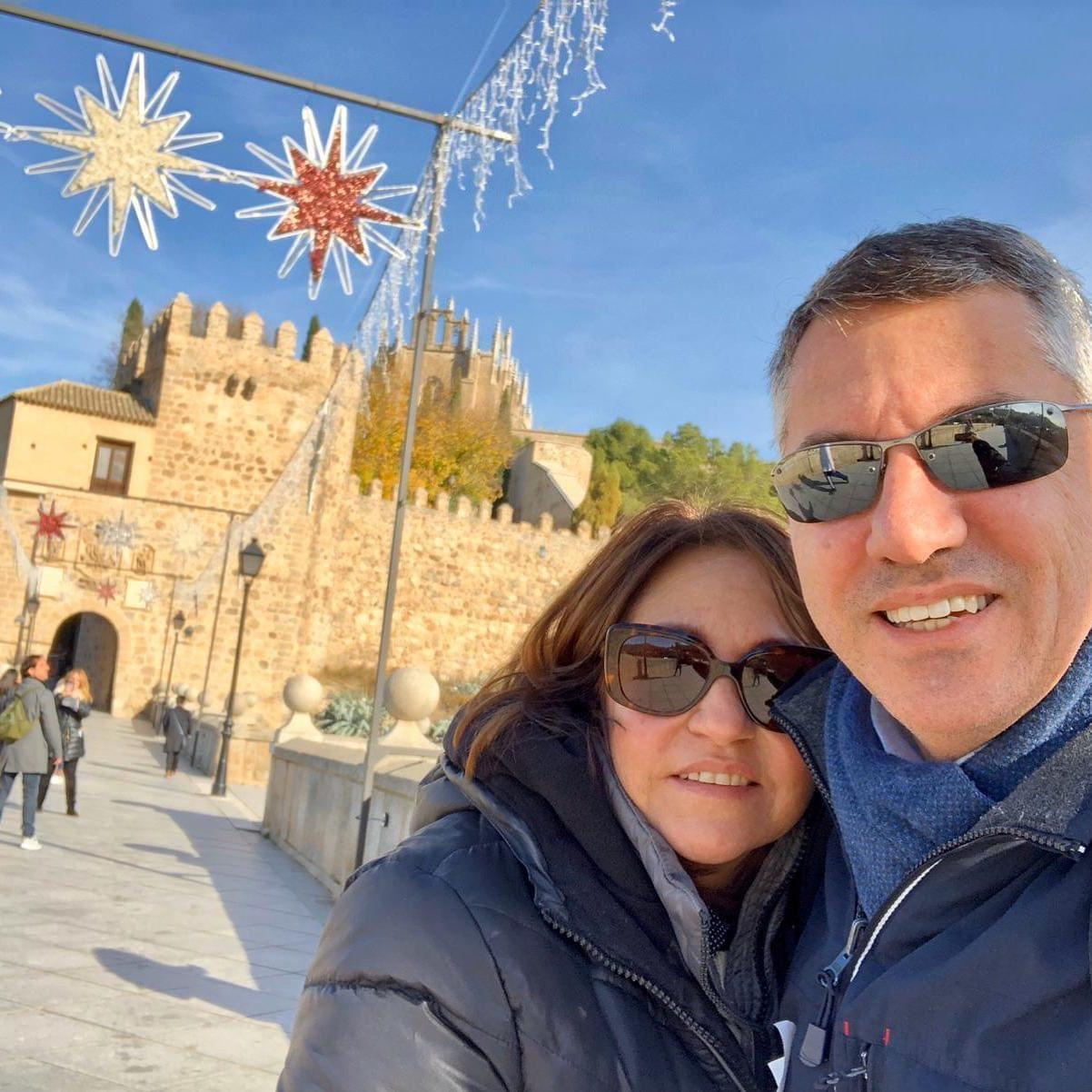 Giancarlo y Mayela Goeta
